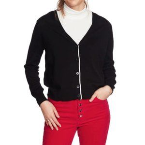 NEW Court & Rowe Elbow Detail Tipped Cardigan